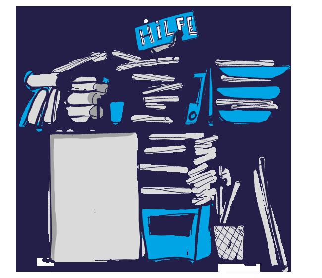 Büro-Organisation für Privatpersonen