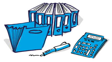 Büro-Organisation für GründerInnen